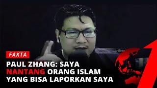 EKSKLUSIF! Jozeph Paul Zhang: Saya Banyak Membaptis Imigran Muslim dari Timur Tengah | Fakta tvOne