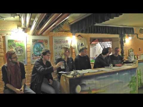 CannabisKontrollGesetz in der Praxis - Diskussionsrunde im Hanf Museum Berlin [1 von 2]