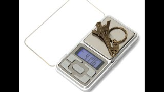 Mini Portable Digital Electronic Pocket Gram Weight Scale unboxing and review (from banggood.com)