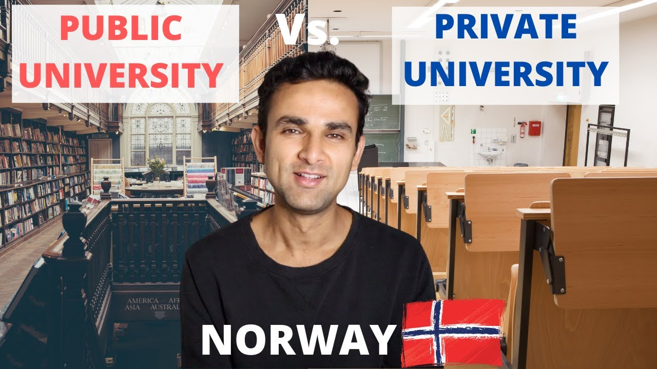 PUBLIC UNIVERSITY vs. PRIVATE UNIVERSITY IN NORWAY | Best country to study abroad for free