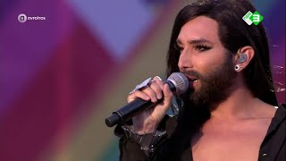 Conchita Wurst | Кончита Вурст - This is my life (EuroPride concert op de Dam, 24.07.2016)