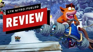 Crash Team Racing Nitro-Fueled Review (Video Game Video Review)