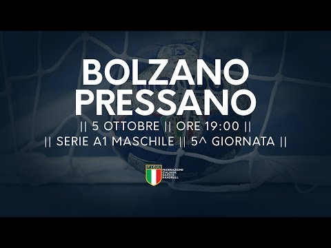 Serie A1M [5^]: Bolzano - Pressano 27-22