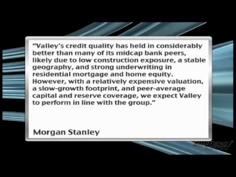 News Update: Morgan Stanley Raised 2010 EPS Estimate By $0.02 For Valley National Bancorp