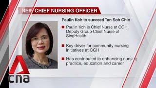 Paulin Koh succeeds Tan Soh Chin as MOH's chief nursing officer