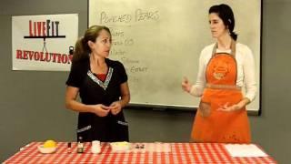 Livefit Kitchen - Orange Pear Dessert