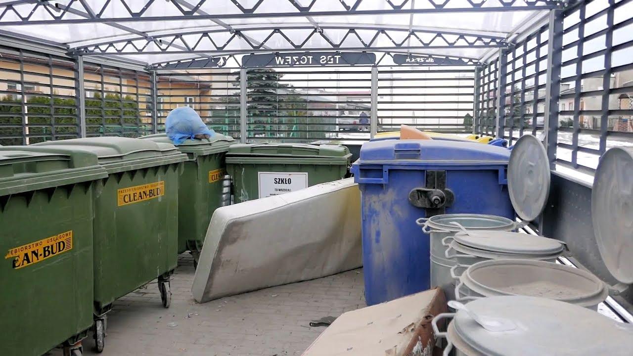 Osiedla Staszica. Nowe kojce na śmieci. Koniec z problemem podrzucania?
