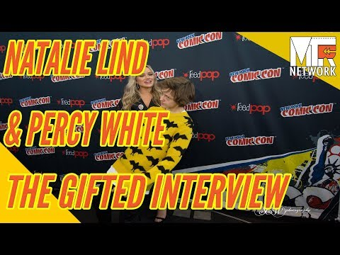 NYCC The Gifted:  Natalie Lind & Percy White On Playing Young Mutant Children