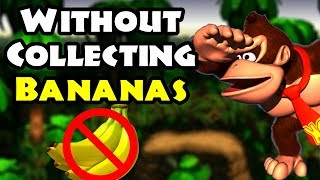 What Levels Can You Beat Without Collecting Bananas in Donkey Kong Country? || Part.1