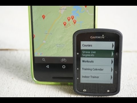 Garmin -- Strava Live Segments Setup and Function