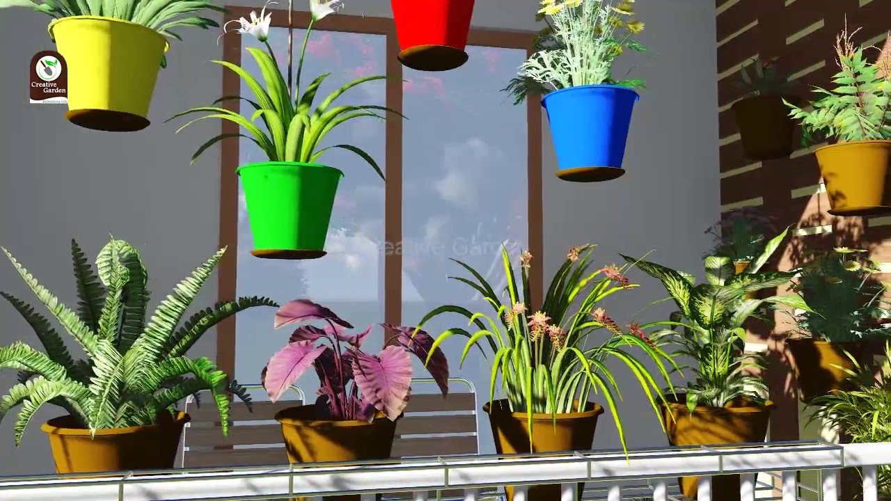 Gardening Ideas For Balcony Terrace At Low Cost In India Creative Garden Youtube