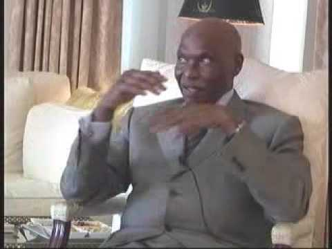 Abdoulaye Wade   07 22 09 Original air date You Tube Compression