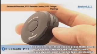 Bluetooth PTT How to use