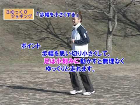 ゆっくり・ジョギング(ウォーキング&ジョギングメニュー)