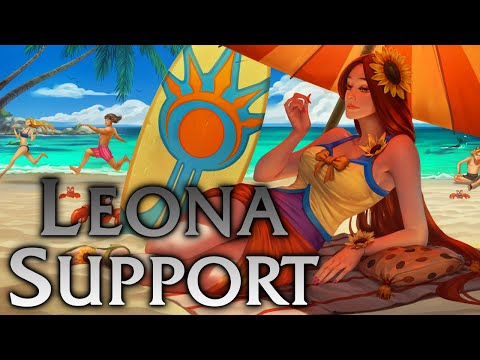 League of Legends | Pool Party Leona Support - Full Game Commentary