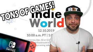 ALL The NEW Switch Games from Nintendo Direct Indie World!