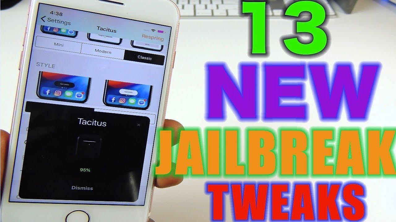 TOP 13 NEW JAILBREAK TWEAKS iOS 12