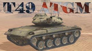 T49 ATGM Best Compilation | WoT Blitz
