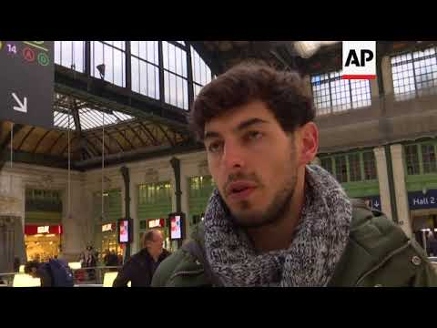 Paris commuters affected as French rail workers resume strike action