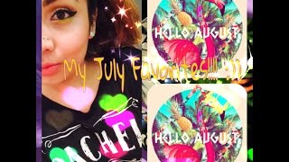 My July Favorites!!!! :)) Thumbnail