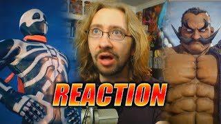 MAX REACTS: Skullomania & Darun Mister (Arika Fighting EX Trailer)