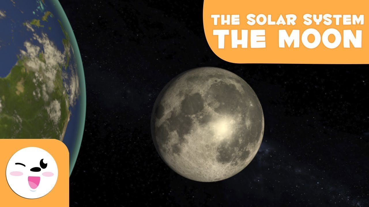 The Moon, the Earth's Satellite - Solar System 3D ...