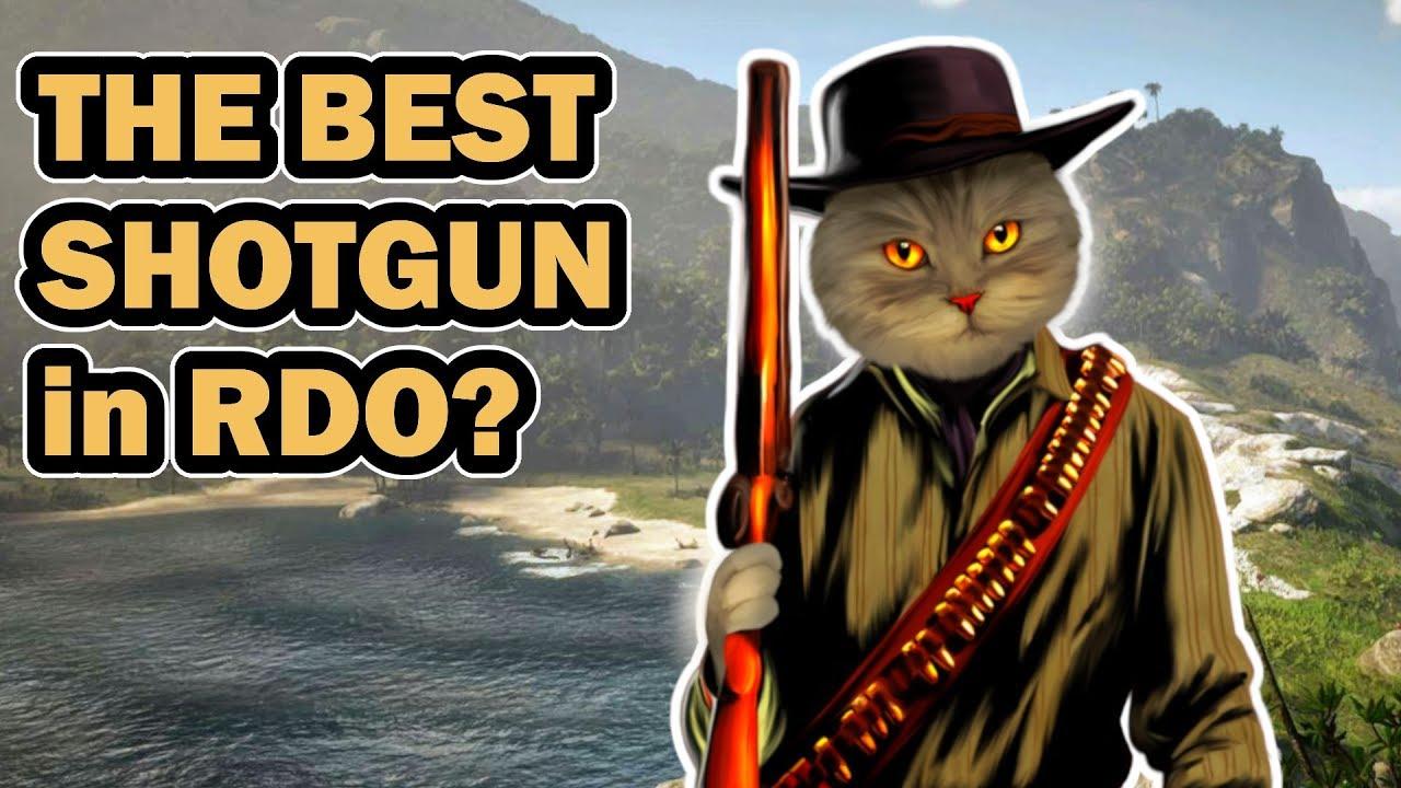 Download The best shotgun in RDR 2 online - shotgun comparison (RDO)