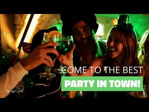 video:Brunos Bar and Grill St Patricks Day Party 2019