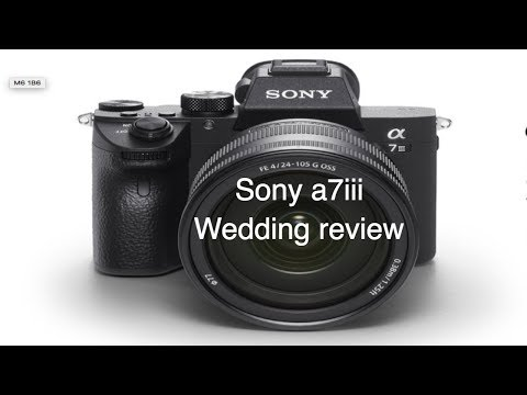 Sony a7iii first wedding review
