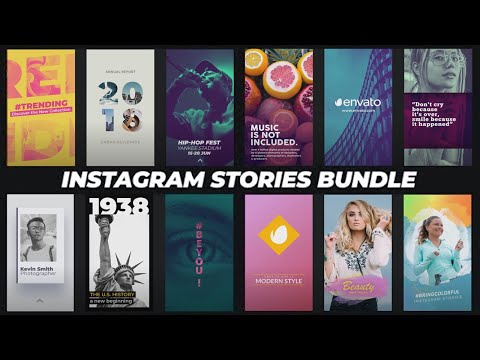 Instagram Stories Bundle ( After Effects Template ) ★ AE Templates