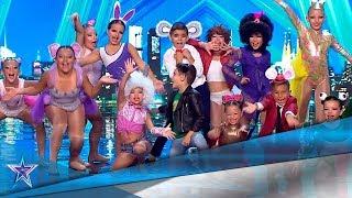 ¡Qué MONOS! Estos PEQUEÑOS ANIMALITOS nos ponen a BAILAR | Audiciones 9 | Got Talent España 5 (2019)