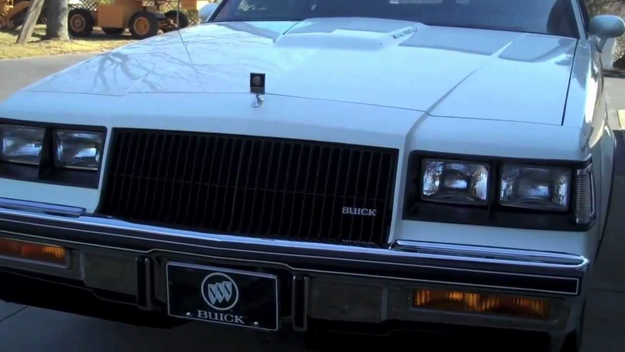 1987 Buick Regal T The White Grand National Blk Out Youtube