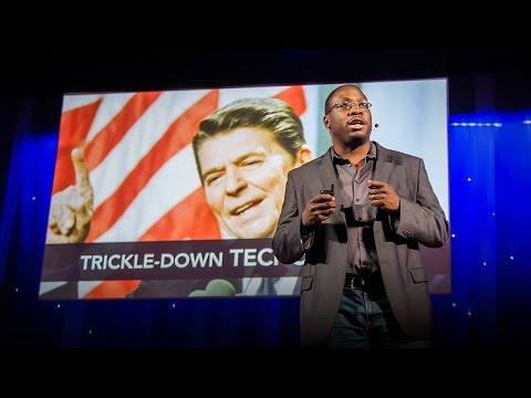 "Jon Gosier: The problem with ""trickle-down techonomics"""