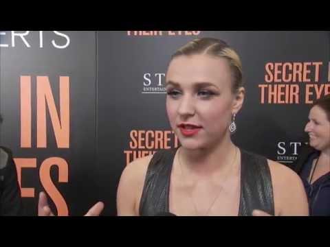 Secret in their Eyes: Maty Noyes Red Carpet Movie Premiere Interview