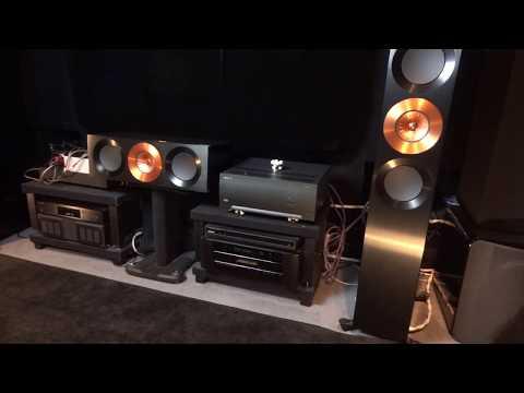 Arcam P49 Take 5 Dave Brubeck Amplifier Review + Kef Meridian SVS JPlay Isotek P 49