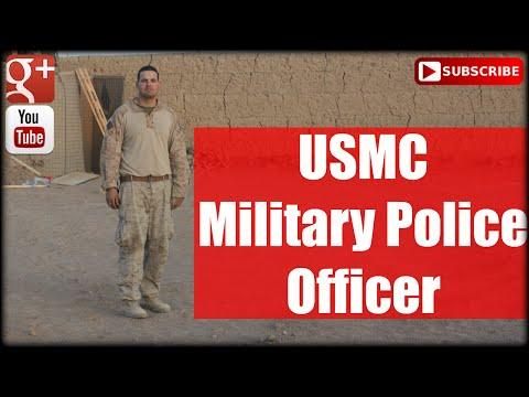 USMC: Military Police Officer