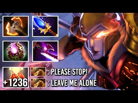 EPIC Non-Stop Duel Battle Fury LC Counter Bristleback New Trend 7.19 Gameplay WTF Dota 2