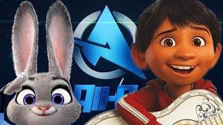 Disney Weirdness (ALI-A Intro meme)