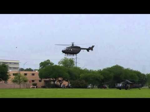 U.S. Army UH-72 Lakota Taking Off