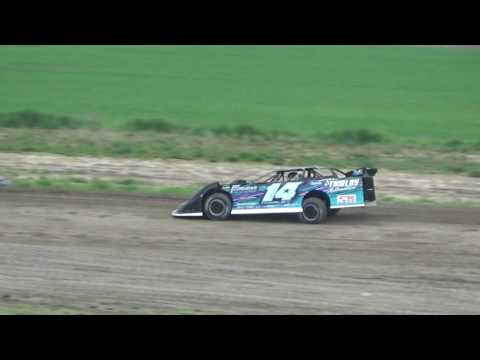 4 Late Model Time Qualifying with Brandon Thirby at I-96 Speedway, Michigan on 05-26-17