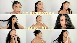 MY GO-TO QUICK & EASY EVERYDAY HAIRSTYLES