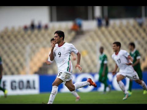 Video: U16 Iran vs U16 Ả-rập Xê-út