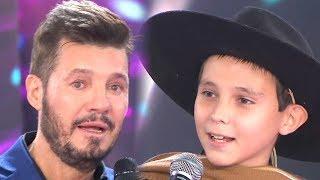 Carlos emocionó a todos y Marcelo decidió darle la estrella verde antes de que cante