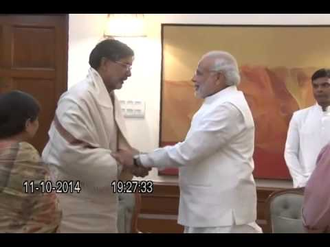 Nobel Peace Prize Winner Kailash Satyarthi calls on PM Narendra Modi