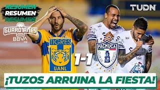 Resumen y goles | Tigres 1-1 Pachuca | Guard1anes 2020 Liga BBVA MX - J2 | TUDN