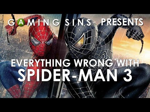 Everything Wrong With Spider-Man 3 The Game In 8 Minutes Or Less   GamingSins