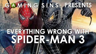 Everything Wrong With Spider-Man 3 The Game In 8 Minutes Or Less | GamingSins