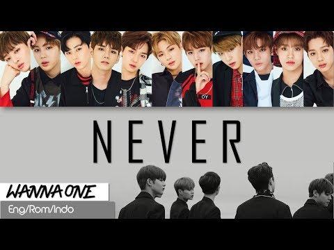 Wanna One -  NEVER (Lirik Sub Indo)