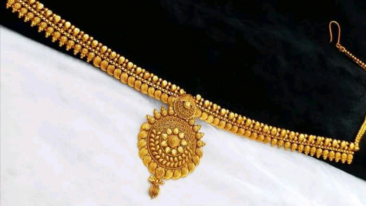 Gold Kamarband Designs For Women Waist Belt In Gold Youtube