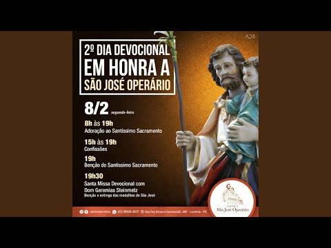 2º DIA DEVOCIONAL - ANO DE SÃO JOSÉ